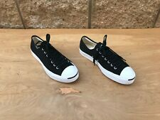 Converse Jack Purcell Low Top Sneaker, Black , Size 11.5 US Women / 10 Men