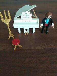 playmobil Pianospieler 4309 2008 Klavierspieler mit Flügel 2 Hochzeitsmelodien