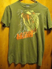 August Burns Red Bloody Tiger T Shirt Small Brown