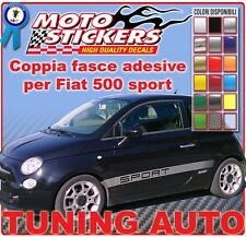 Fiat 500 - Fasce adesive sport  - Tuning Auto Adesivi Auto cod. art.: tsportxx
