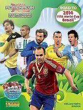 World Cup Football Trading Cards Brazil Season 2014