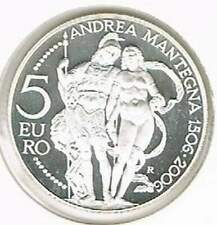 San Marino 5 euro 2006 proof zilver PP: Andrea Mantegna