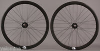 Track Bike Fixed Gear 42mm Deep Black Aero Wheelset Formula hub DT Swiss Spokes