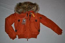 parajumpers skimaster down jacket front cropped image; parajumpers gobi orange