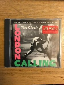 THE CLASH LONDON CALLING 2 X CD PUNK CLASSIC REAGGAE DUB