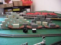 Hornby Lowmac Container. Please read description.
