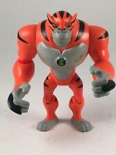 "Ben 10  Rath Tiger Alien Toy 4"" Action Figure 2010 Bandai Cartoon Network"