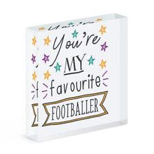 You'Re Mein Favorit Fußballer Stars Acryl Foto Block Rahmen Best Fußball