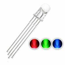 100pcs Led Flashing Diode 5mm 3v Light Emitting Lamp Bulb