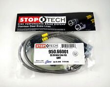 STOPTECH STAINLESS STEEL BRAIDED FRONT BRAKE LINES FOR 00-05 CHEVROLET TAHOE