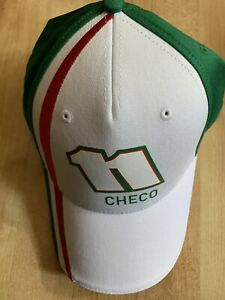 Formula 1 Force India Checo Baseball Cap - White - New With Tag