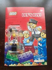 Lego Lets Fly - Activity Book with Pilot MiniFigure - New