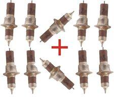 2200 PF 2.2 NF 200 V lotto di 10 condensatori ceramici passante Russo