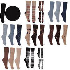 Mens Gentle Grip Sock Shop Non elastic Socks Xmas Gift UK size 6-11 12-14 Lot