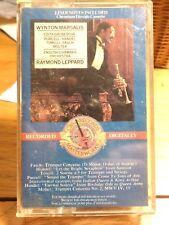 Wynton Marsalis cassette plays Purcell, Handel, Torelli, Fasch, Molter- Leppard