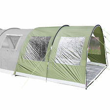 skandika Canopy Gotland 5 AVANCE para tienda campaña 370x240x210 cm verde nueva