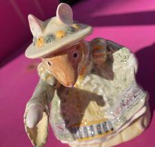 "Royal Doulton Bramley Hedge ""Primrose Entertains� Figurine Excellent Condition"