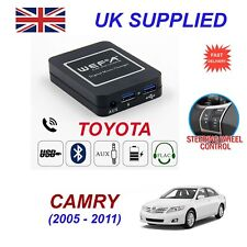 para CAMRY Música Tiempo Real Bluetooth Telefono SD AUX CD DIGITAL Módulo 6+6
