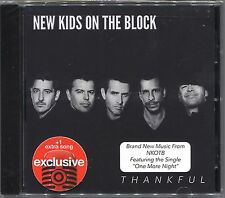 +1 BONUS TRACK--> NEW KIDS ON THE BLOCK Thankful EXCLUSIVE CD One More Night DMX