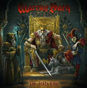 WARRIOR PATH The mad king CD Stormspell Records 2021!!