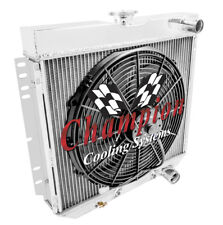 Radiator and Fan Combo For 67-69 Mustang/Cougar