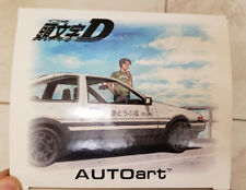 AUTOart 1/18 Toyota sprinter trueno AE86 Initial D Project D DIECAST NEW IN BOX!
