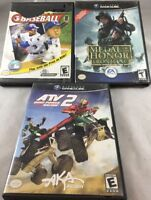 Nintendo Gamecube Video Games Lot of 3, *Fast Ship* * G36*
