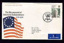 1976 Britain Edinburgh Us Bicentennial Fdc