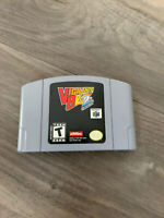 Nintendo 64 vigilante 2 2nd offense game only authentic