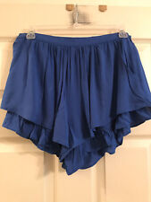 Re:Named Women's or Junior's Rayon Ruffle Shorts, Size Small, NWT