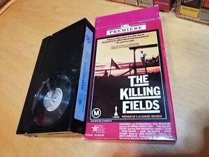 THE KILLING FIELDS 1984 CEL/Star Video Retro BETAMAX CARTON 1st Issue WAR DRAMA