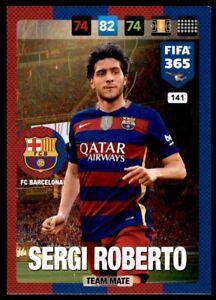 Panini 365 Adrenalyn XL (2017) Sergi Roberto FC Barcelona  No. 141