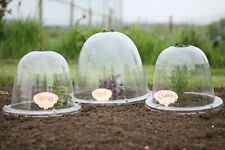 More details for king size victorian bell cloche x 2 garden crop plant veg frost protection