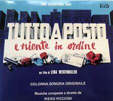 Piero Piccioni - Tutto A Posto E Niente In Ordine - Soundtrack CD (Japan)