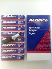 SET OF 8 ACDELCO CR43TS SPARK PLUGS 19157996