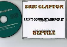 ERIC CLAPTON I Ain't Gonna Stand For It JAPAN PROMO-ONLY CD SINGLE w/PS PCS-505