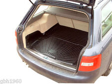 Audi A6 C5 avant estate 1997 - 2005 black rubber boot load liner dog mat