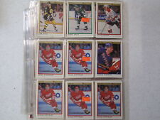 1990-91 OPC Premier Detroit Red Wings Lot Of 63 Cards B6031