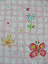 3.2m DESIGNERS GUILD butterfly & Elgin flowers pink cotton fabric