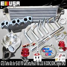 GT35 Turbo Kits for 93-97 VW Passat  GLX Sedan/Wagon 4D 2.8L V6 DOHC/SOHC ONLY