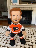 Philadelphia Flyers Claude Giroux Stuffed Plush NHL Doll Hockey Souvenir NICE
