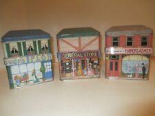 Set of 3 English Village Tins***Flawless!***