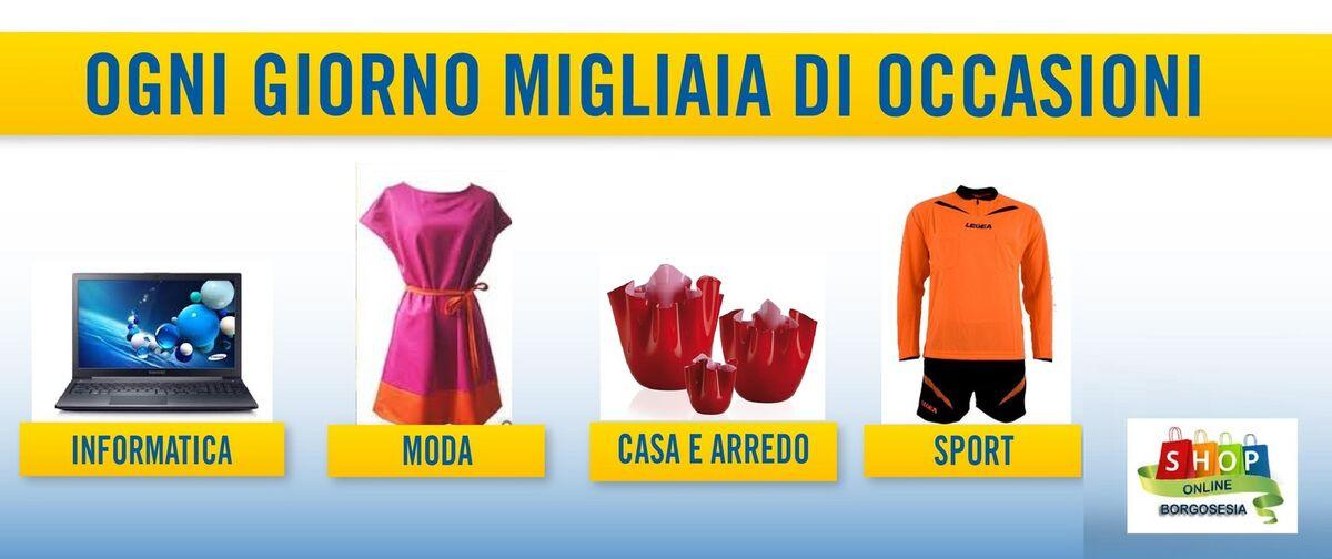 Shop Online BorgoSesia