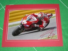 2006 MotoGP World Champion Nicky Hayden Signed & Mounted Photograph
