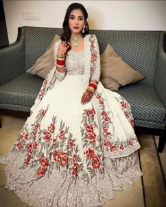 Wedding Festival Lehenga Bridal Chunri Choli Indian Designer Ghagra Lengha Wear