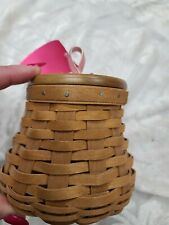 New ListingLongaberger basket breast cancer mini