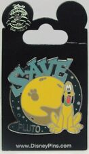Disney Pins * PLUTO SAVE THE PLANET  * Large Single NEW on Card