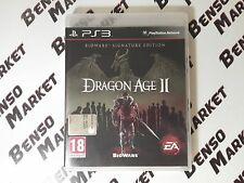 DRAGON AGE II 2 SIGNATURE EDITION SONY PS3 PAL ITA ITALIANO COMPLETO COME NUOVO