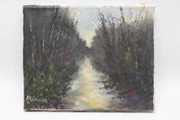 Gemälde Fred Nömeier Mooslandschaft