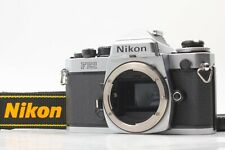 [Mint] Nikon FE2 35mm SLR  Body, Light seals replaced Strap DC-3(new) From Japan